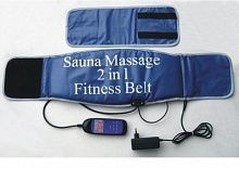 Пояс Sauna Massage 2 in 1 Fitness Belt фото